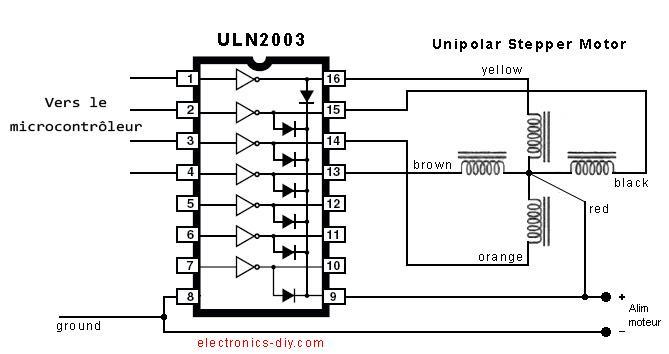 Uln2003a fonctionnement