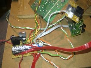 Le PCB cablé